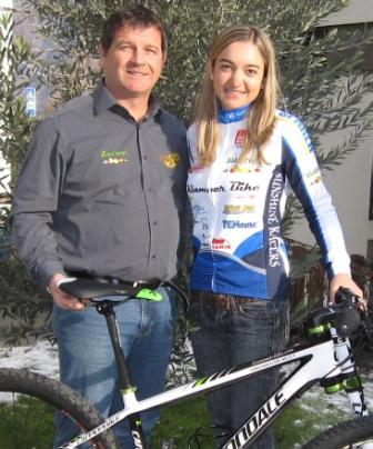 Florian Pallweber und Judith Pollinger
